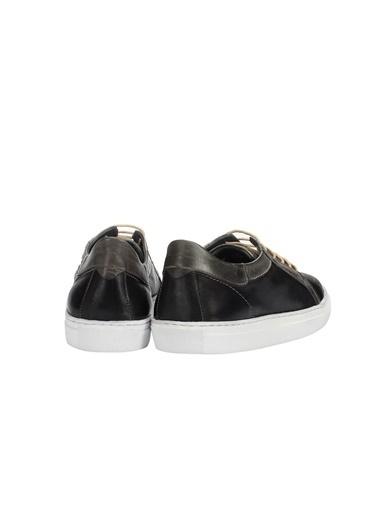 İnci Bağcıklı Ayakkabı Lacivert